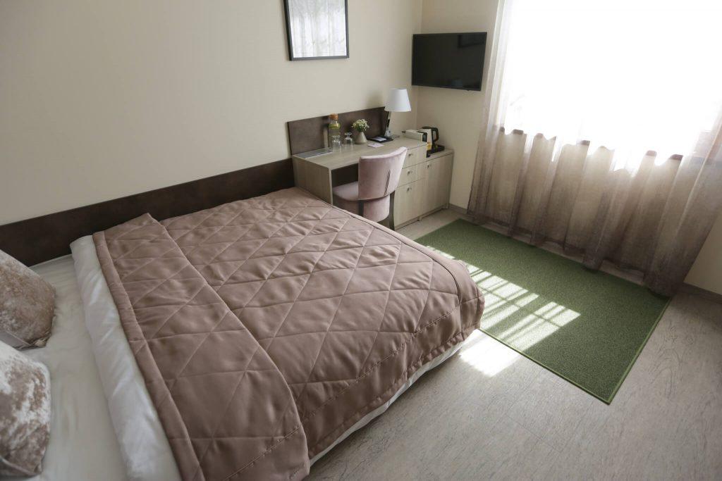 """Lavender Inn"""" Birch svečių kambarys su vaizdu į beržų liniją"""