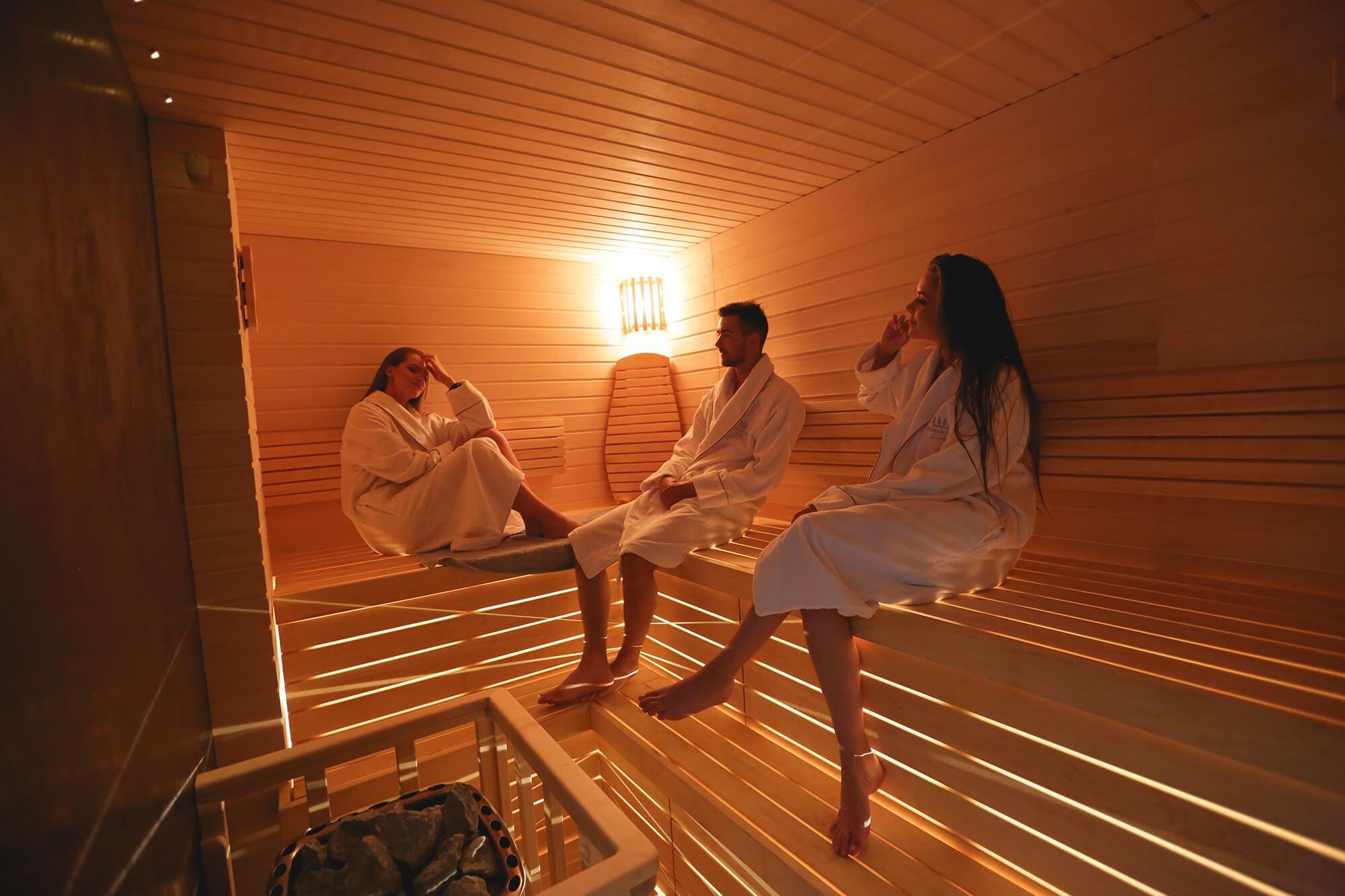 Lavender Inn sauna